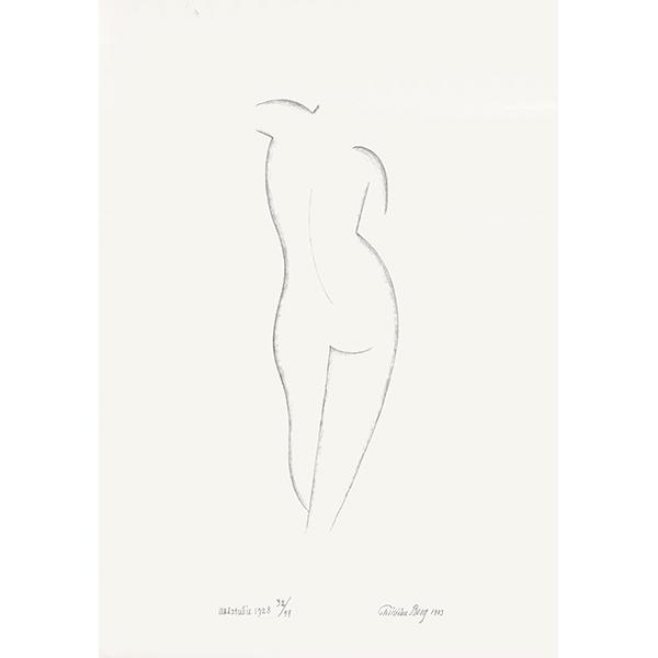 Nude Study 1928 1973 Panderma